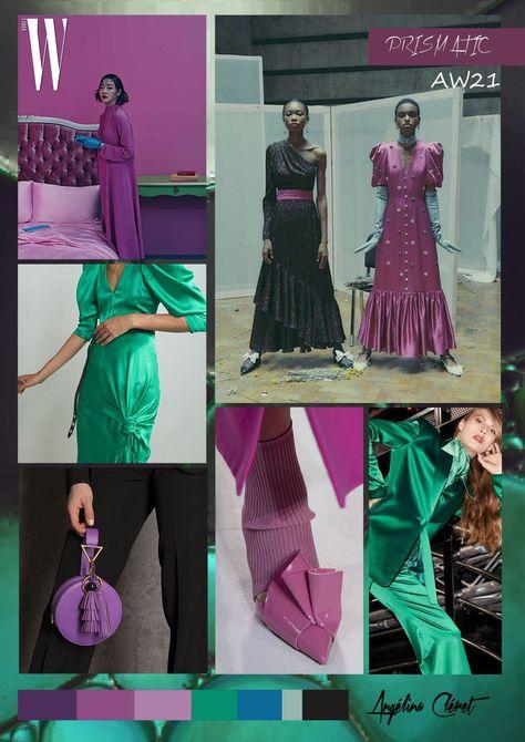 PRISMATIC AW21 - Fashion & Colors Trend by Angélina Cléret