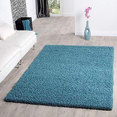 T&T Design Shaggy Teppich Hochflor Langflor Teppiche ...