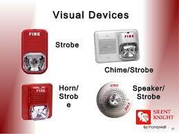 Visual Fire Alarm Device Fire Alarm Fire Suppression Fire
