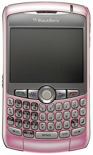 Was Curve this Very Blackberry Pink Cell-phone My First 8310 That