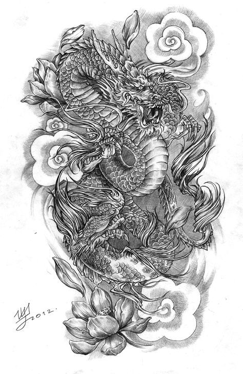 Best Tattoo Dragon Chinese Design Tat 67 Ideas Dragon Sleeve Tattoos Sleeve Tattoos Dragon Tattoo Art
