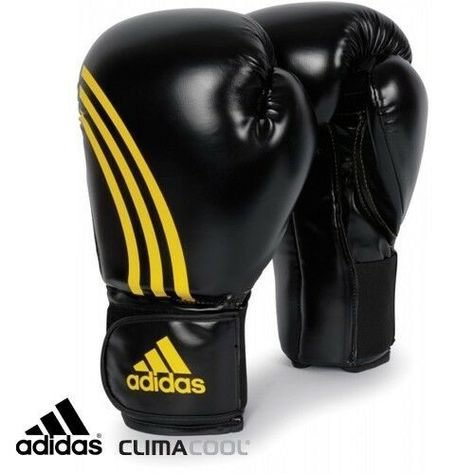 BC05 adidas Boxing Leather PRO Lace Gloves