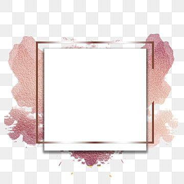 Abstract Rose Gold Frame Png Gold Frame Gold Frame Png Png Transparent Clipart Image And Psd File For Free Download In 2021 Floral Logo Design Rose Gold Frame Rose Gold Painting