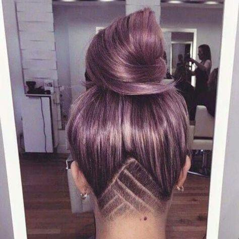 List Of Undercut Frauen Lange Haare Muster Pictures And Undercut