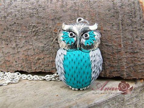 anavi / B083 náhrdelník Owl