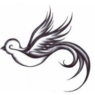 I have this tatoo on the back of my neck and I just found it on pinterest I guess thats what happens when you use Google images to find Tatoos lol oh well I love it