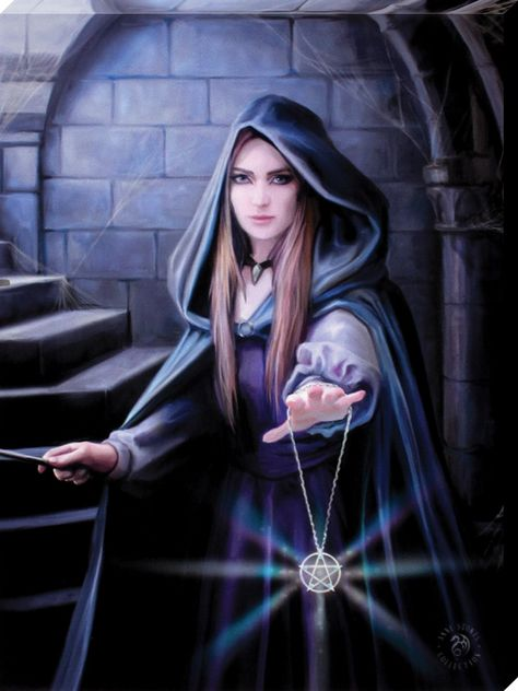 Anne Stokes Small Light In The Darkness Canvas Print - Buy Online at Grindstore.com