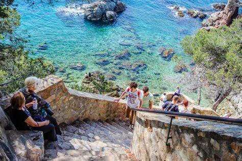 Hiking Camino De Ronda From Lloret To Tossa Spain Travel Ronda