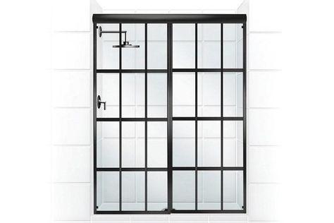 90 876 584 Gridscape Shower Door Coastal Shower Doors Shower