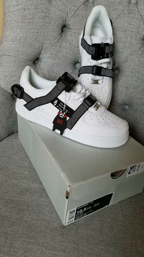 Desfiladero Diacrítico desfile  New Af1 Low white Prototype size 10.5 Air Force 1 Utility #fashion ...