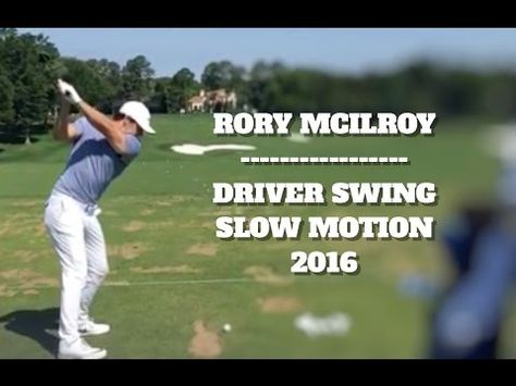 Rory Mcilroy Driver Swing Super Slow Motion Rory Mcilroy