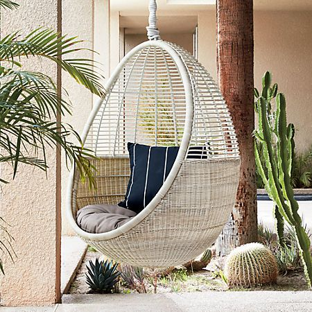 Pod Hanging Chair Cushion Reviews Hanging Chair Small
