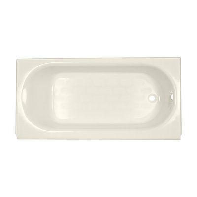 American Standard Princeton 60 X 30 Alcove Soaking Bathtub Color Black Drain Location Right Hand Soaking Bathtubs Bathtub Tub