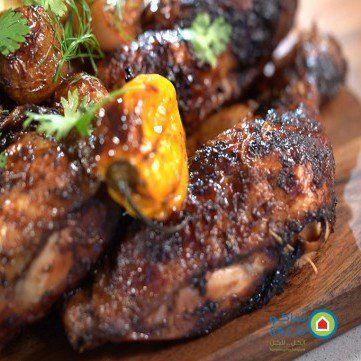 دجاج مقلي على الهواء بالفيديو مطبخ سيدتي Recipe Food Chicken Meat