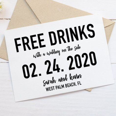 Free Drinks Save the Date, Free Beer Invitation, Printable Save the Date, Minimalist Save the Date, Funny Save the Date Invitation  Free Drinks Save the Date, Free Beer Invitation, Free Alcohol, Save the Date, Minimalist Save the D #Beer #Date #Drinks #Free #Funny #Invitation #Minimalist #Printable #Save
