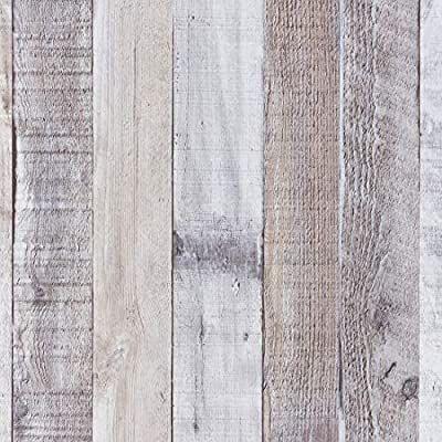 Art3d 17 7 X78 7 Peel And Stick Wallpaper Decorative Self Adhesive Vinyl Film Wood Grain Wood Grain Wallpaper Wood Plank Wallpaper Peel And Stick Wallpaper