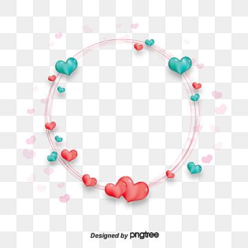 Circle Heart Shaped Heart Love Red Frame Frame Vector Border Vector Red Vector Circle Vector Love Vector Green Circle Borders Love Png Heart Balloons Valentine