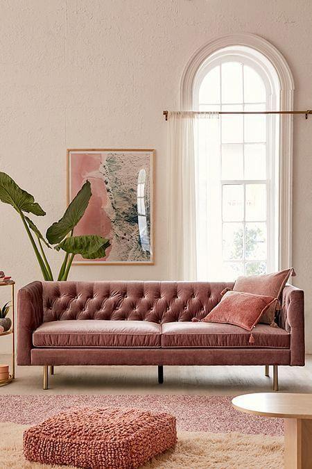 Velvet Sofa Living Room