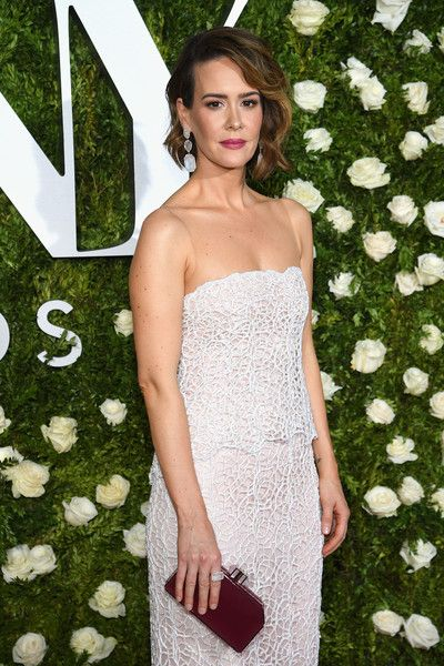 Sarah Paulson attends the 2017 Tony Awards at Radio City Music Hall.