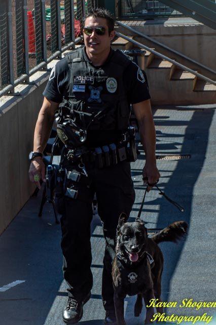Santa Ana Police Department S K9 Team At The 2018 Desert Dog K9 Trials In Mesa Az K9 Officer Police Department Police