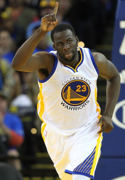 Description of . Golden State Warriors' Draymond Green (23) celebrates a dunk in the fourth quarter of their game against the Los Angeles Lakers at Oracle Arena in Oakland, Calif., Saturday, Nov. 1, 2014. (Anda Chu/Bay Area News Group)
