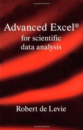 Advanced Excel For Scientific Data Analysis Excel Advanced