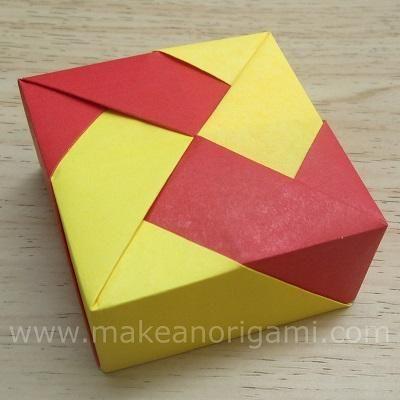 c7a2c80da6b8fc247ae4a3df314e6bda origami boxes container origami square box 1 (base) (tomoko fuse) origami boxes tomoko fuse boxes at cos-gaming.co