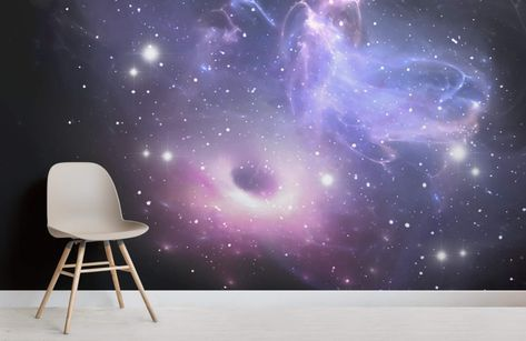 Bright Galaxy Wallpaper Mural MuralsWallpaper en 2019