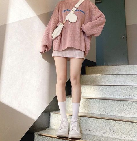 skirt outfits korean style
