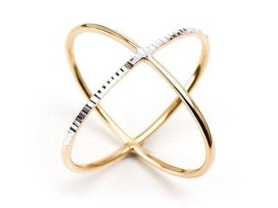 Pierscionek X W Pierscionki Obraczki Allegro Pl Gold Bracelet Jewelry Gold