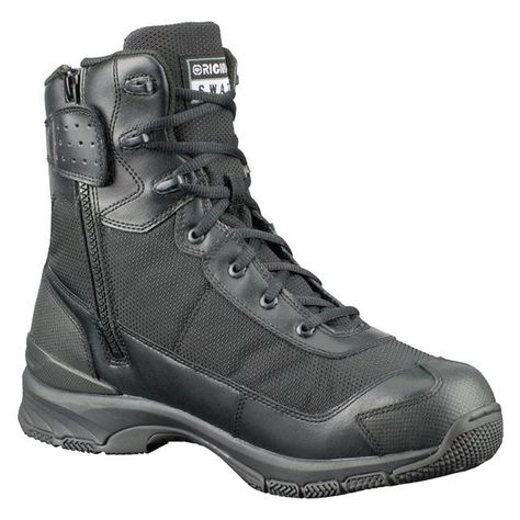 Botas Hombre 9 Side-Zip En H.A.W.K Original SWAT