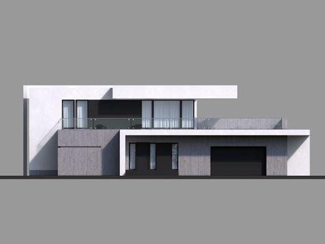 DOM.PL™ - Projekt domu CPT Koncept 30 CE - DOM CP1-36 - gotowy koszt budowy
