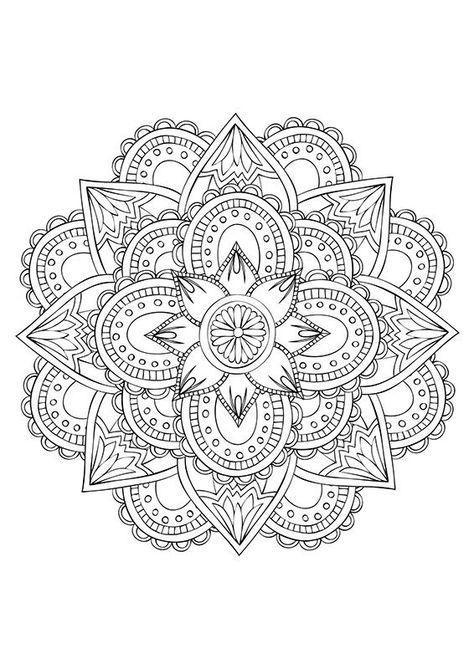 Coloriage Adulte Mandala A Imprimer.Coloriage Mandala Adulte 15 Mandala Coloriage Adulte Via