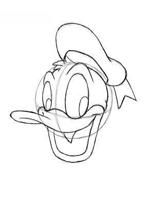 Donald Duck Zeichnen Lernen Schritt Fur Schritt Tutorial Zeichnen Leicht Gemacht In 2020 Disney Zeichnen Zeichnen Zeichnen Lernen