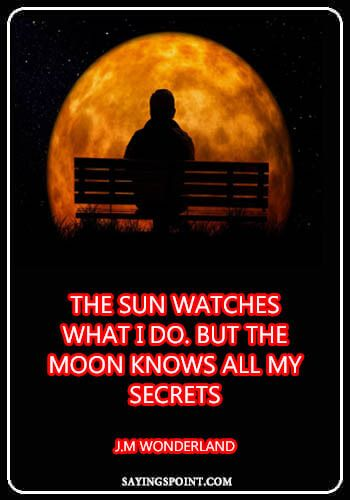 Moon Quotes Moon Quotes Sayings Quotes