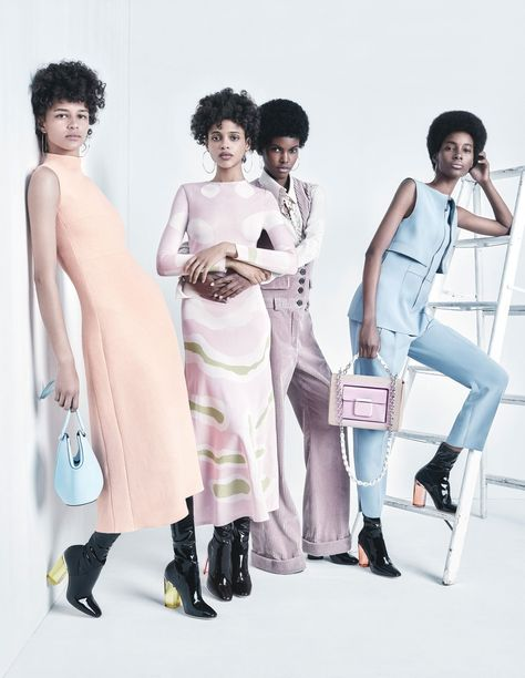 W Magazine has come out the gate with a flawless fashion editorial that only features black models. The six models —Aya Jones, Binx Walton, Ajak Deng, Amilna Estevao, Tami Williams and Anais…