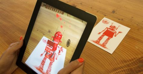 Augmented Reality Greeting Cards Deliver Personalized Messages