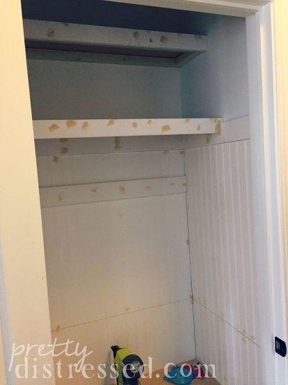 Hall Closet Turned Mini Mudroom In 2020 Hall Closet Mudroom Makeover Door Makeover