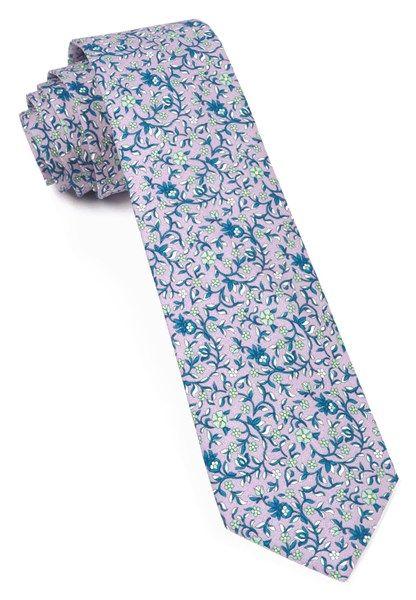 Peninsula Floral Navy Tie Floral Tie Floral Wedding Ties