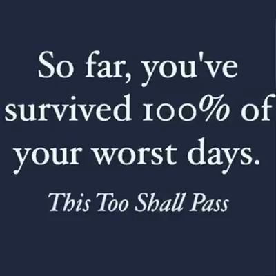 So far you've survived...