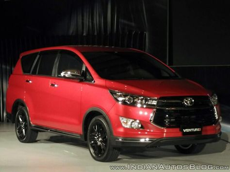 Toyota Innova Venturer Launched In Indonesia With 15 Changes