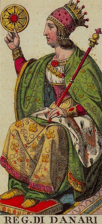 Classical Tarot Queen Of Coins Tarot Art Tarot Magic