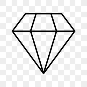 Vector Diamond Icon Diamond Icons Diamond Jewelry Icon Png And Vector With Transparent Background For Free Download Diamond Vector Diamond Icon Diamond Outline