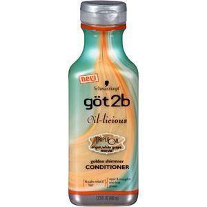 Schwarzkopf Got2b Oil Licious Hair Care Shampoo Conditioner Styling Oil Hair Care Shampoo Schwarzkopf Got2b Conditioner