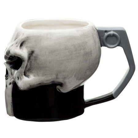 Zak Designs Marvel Comics The Punisher Coffee Mug Walmart Com Mugs Punisher Marvel