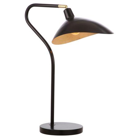 Safavieh Giselle 30 In H Modern Glam Table Desk Lamp Walmart Com Adjustable Table Lamps Black Table Lamps Table Lamp
