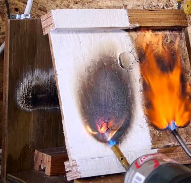 Fire Proof Paint For Wood Painting On Wood Wood Painting