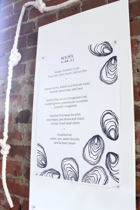 supper club menu // #cocokelley