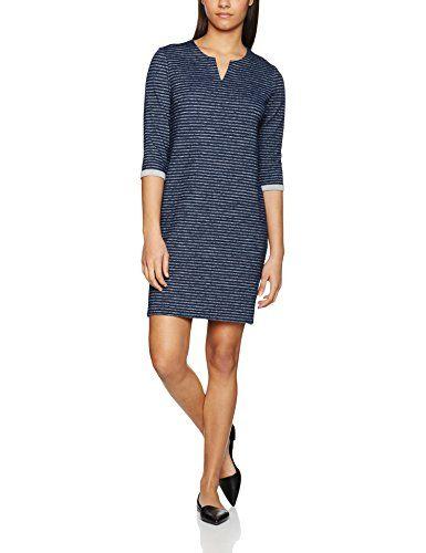 S Oliver Damen Kleid 14703826406 Blau Navy Melange 59w0 38 Modestil Damen