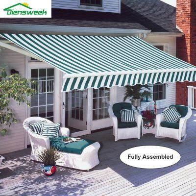 Best Retractable Awning In 2020 Review Patio Awning Deck Awnings Patio Canopy